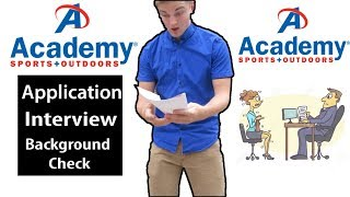 How the Academy Sports&Outdoors Job Process Works!
