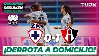 Resumen y Goles | Cruz Azul 0 - 1 Atlas | Liga Mx Femenil - CL 2020 J-3 | TUDN