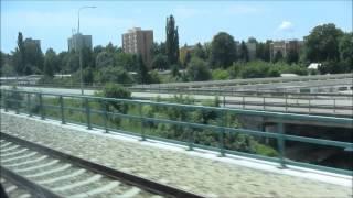 preview picture of video 'Elektrická jednotka 680 (Pendolino) na trati Tábor-České Budějovice'