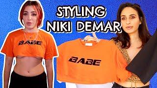 Niki Demar - Wardrobe Takeover!! | Closet Raid