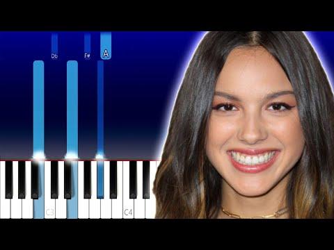 Olivia Rodrigo - All I Want (Piano Tutorial)