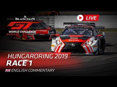 ブランパンGT ハンガリー Race1 ライブ動画