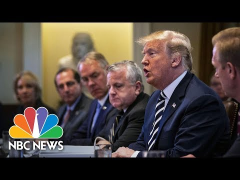 Trump On N. Korea: DMZ Location Ruled Out, 'Everyone Thinks' I Deserve Nobel Peace Prize | NBC News