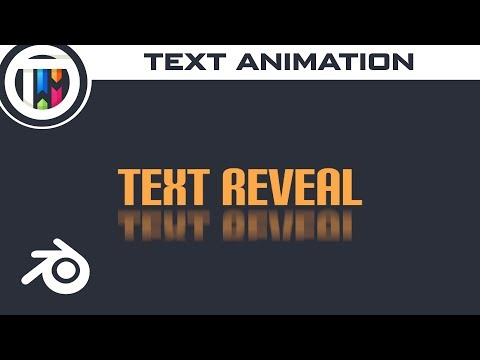 Easy Text Animations With Blender 2 8 and Animation Nodes