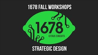 Fall Workshops 2018 - Strategic Design