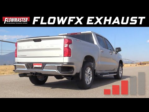 2019 GM Silverado/Sierra 1500 5.3L - Flowmaster FlowFX Cat-back Exhaust 717893