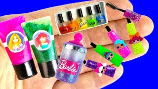 55 DIY Barbie, Baby Hacks and Crafts | Miniature Baby Bed, Chair, Bags ... and more!