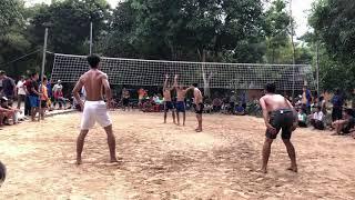 Bóng chuyền độ : team Niet Savanh (Niet, Sê, Nam) - team Duy màu (Duy, Thường, Thọ) set 1