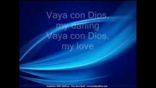 Vaya Con Dios - Freddie Fender LYRICS.wmv