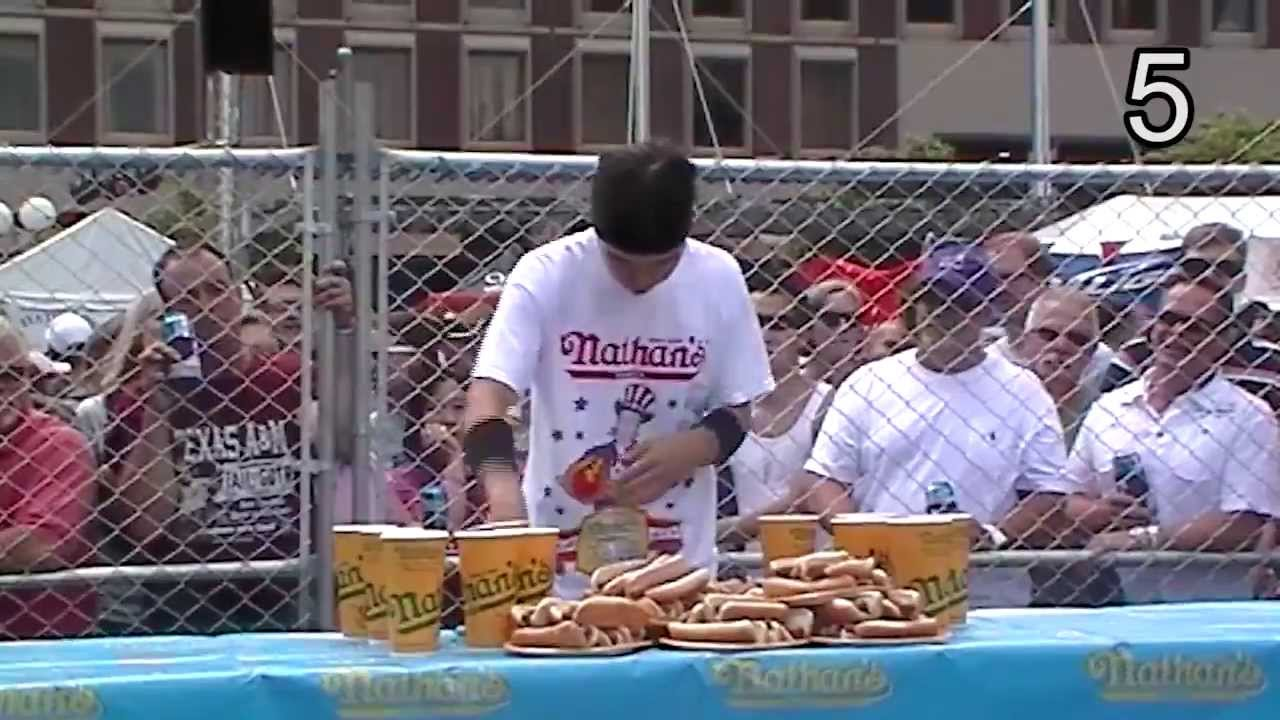 Phantom Gourmet's Nathans Hot Dog Contest Qualifier 2012 thumbnail