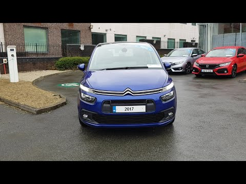 Citroen C4-Grand-Picasso Touch Edition 1.6 Blue Hdi  7 Seats