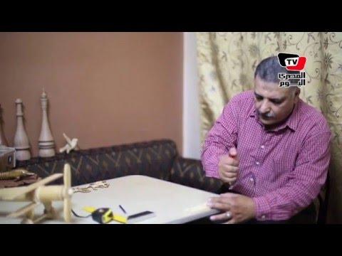 «دركسيون وطبلة ومنشار».. أدوات «عبد الوهاب» لمواجهة الاكتئاب