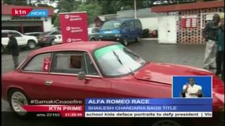 Driving a 1982 Alfa Romeo Giulietta, Shailesh Chandaria scored a repeat victory in the quartz econom