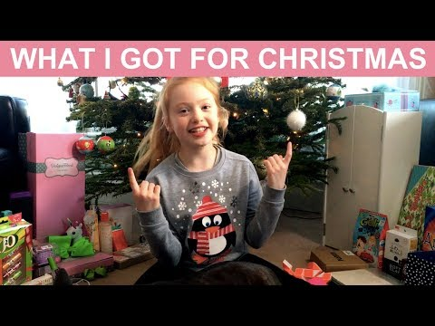 WHAT I GOT FOR CHRISTMAS UK 🎁🎅🏻. | CHRISTMAS HAUL | RUBY ROSE UK