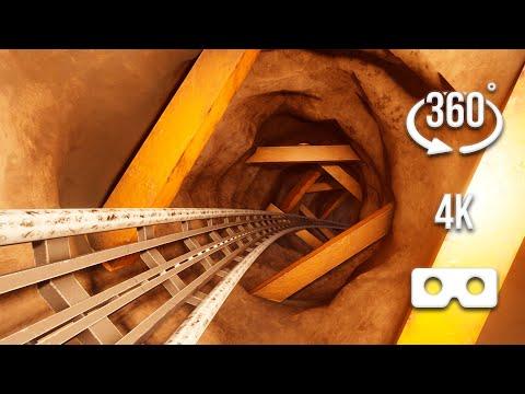 Extreme 360° VR Achterbahnfahrt, die dein Adrenalin zum Pumpen bringt