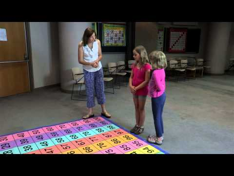 Add and Subtract Mat--The Giant Hundred Number Grid