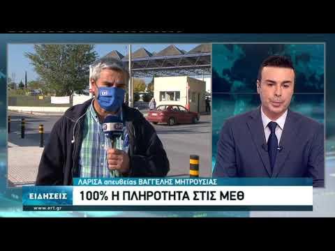 Γεμάτες οι ΜΕΘ στη Λάρισα | 16/11/2020 | ΕΡΤ