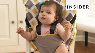 Use a Portable Baby Seat Instead of a High Chair