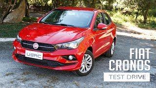 Fiat Cronos 1.3 Drive - Test Drive