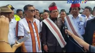(FAJAR TV) Komisi V DPR RI Tinjau Proyek Bandara Buntu Kuni Toraja