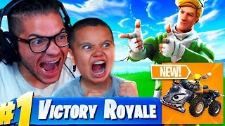 THIS MADE MINDOFREZ AND KAYLEN RAGE HARDER THAN EVER!!! *NEW* QUAD CRASHER FORTNITE BATTLE ROYALE!