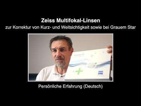 Zeiss Multifokal-Linsen – Persönliche Erfahrung (Deutsch)