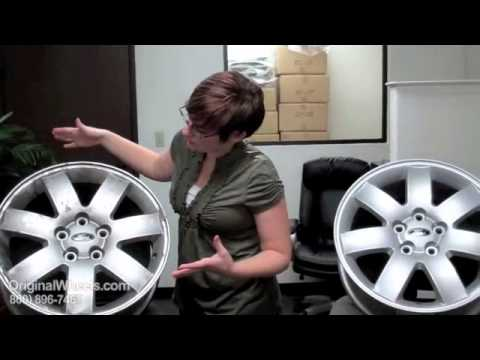 Transit Connect Rims & Transit Connect Wheels - Video of Ford Factory, Original, OEM, stock used rim
