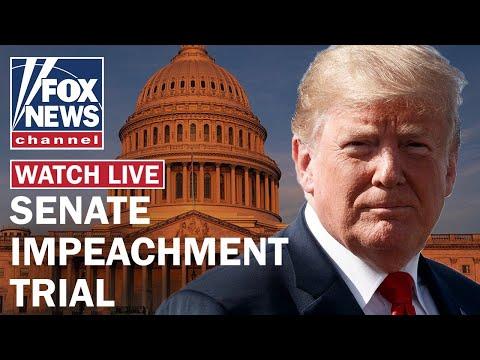 Senate impeachment trial of President Trump Day 1