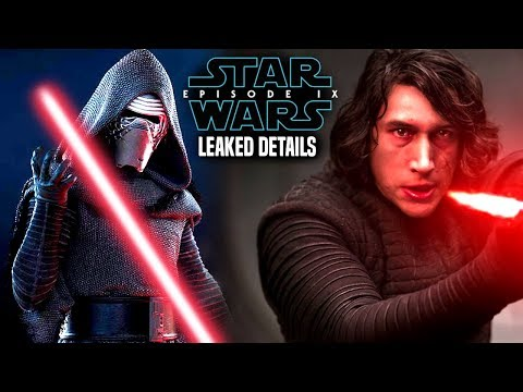 Star Wars Episode 9 Kylo Ren's New Lightsaber! Leaked Details & More! (видео)