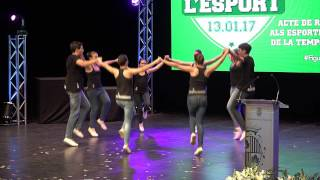 Mediterrània Dansa a la Nit de l'Esport de Figueres