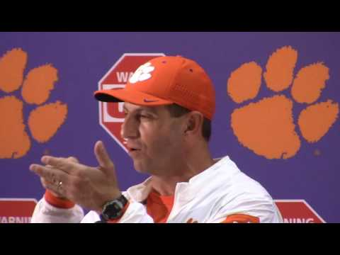 TigerNet.com - Dabo Swinney Louisville postgame press conference - Part 1