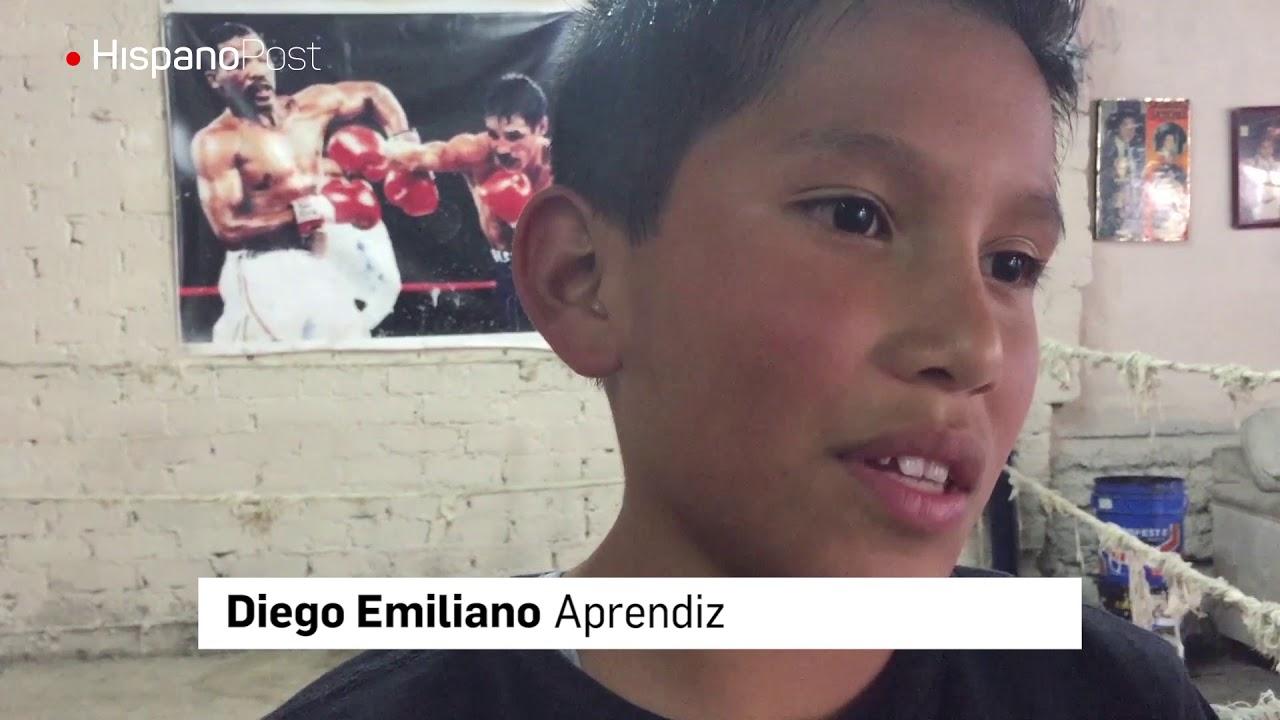 Boxeo de barrio, una opción para alejar a los niños de los vicios