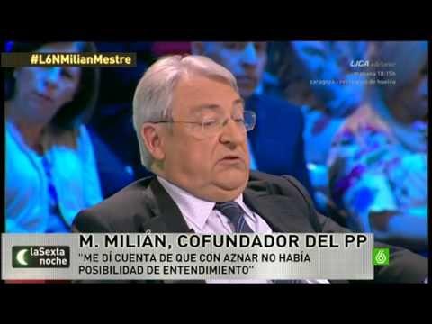 """Salvados. Manuel Milián Mestre: """"Es imprescindible una refundación de la política"""""""