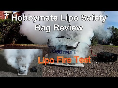 Hobbymate Lipo Safety Bag Review and Test