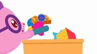 Уборка игрушек - МАЛЫШАРИКИ: Умные песенки - теремок тв: песенки для детей