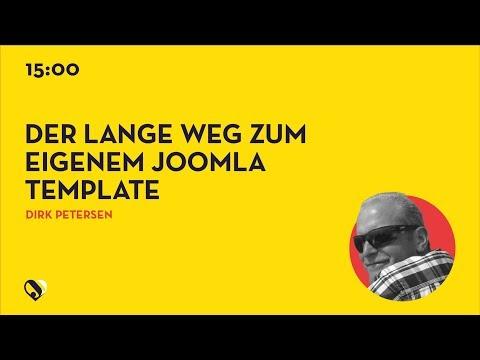 JD19DE - Der lange Weg zum eigenem Joomla Template - 8 Koffer musst du packen!