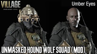 RESIDENT EVIL Village The Hound Wolf Squad Unmasked And No Helmet