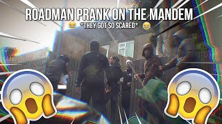 ROADMAN PRANK ON THE MANDEM😱 *THEY GOT SO SCARED*