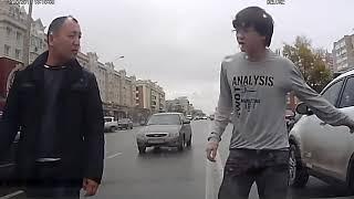 Видеорегистратор ДТП с ТП в Казахстане, Астана