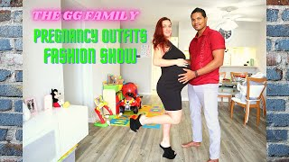 Trying On & Rating 39 Weeks Pre-Pregnancy Maternity's Outfits Sexy Dresses Fashion Show #High Heels