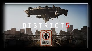 DISTRICT 5, Urbex session with drone ft. Wacken fpv ... + Macking of +... Nevrax Motion