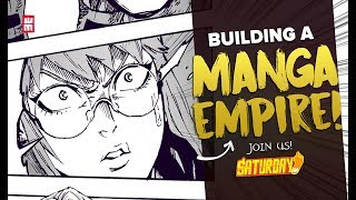 Making A Comic Company Is HARD FUN! | Join Us Behind Saturday AM