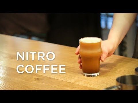 What is Nitro Coffee and how they make it at Happy Baristas?   ECT Weekly #018