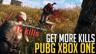 How to Get More KILLS on PUBG Xbox One (Playerunknown