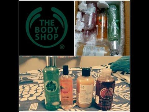 The Body Shop Mini Haul    TBS Christmas Sale