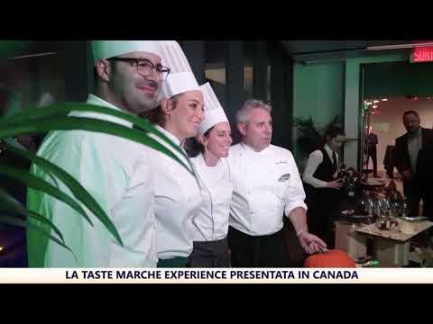 La Taste Marche Experience presentata in Canada