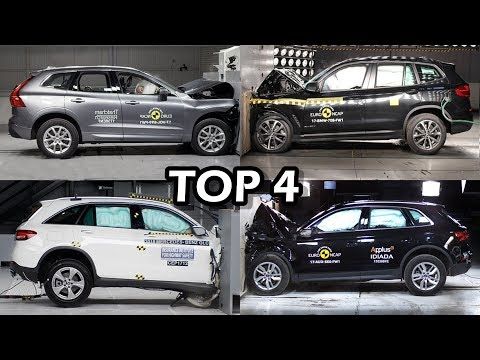 Top 4 Safest SUVs 2018