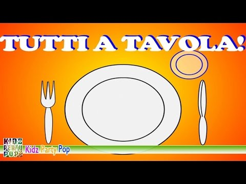 Tutti a tavola | Canzoncine per il pranzo | Canzoni per bambini