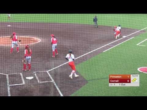 Highlights: Softball at Cornell - 4/28/19