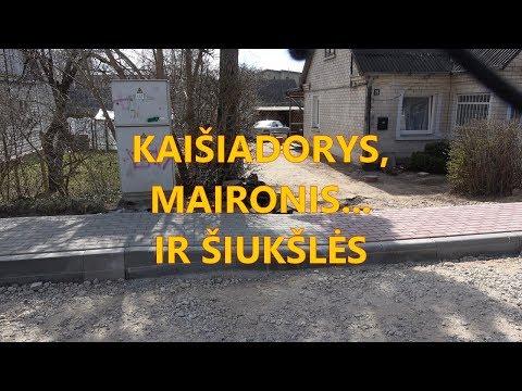 Kaišiadorys, Maironis ir … šiukšlės